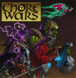 Chore Wars Splash Page