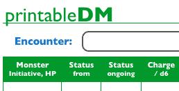 Printable DM